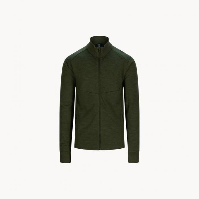 Bilde av Tufte Wool Fleece Jacket Forest Night Melange
