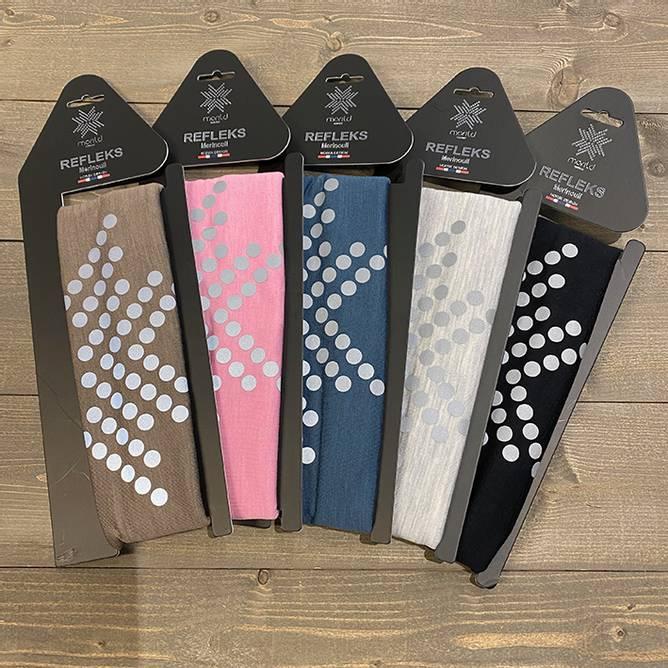 Bilde av Morild Sølvfaks Hals med refleks (Flere farger)