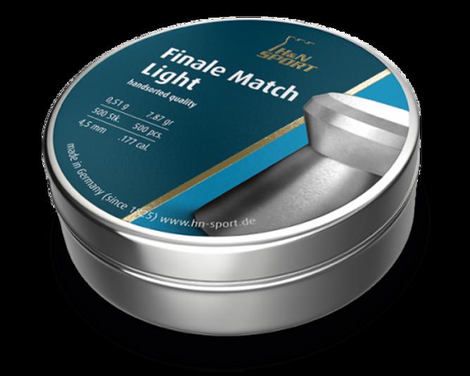 Bilde av H&N  Luftkuler Finale-Match Light 4,5mm