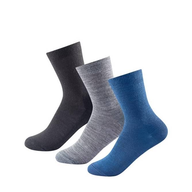 Bilde av Devold Daily Light Boy Mix Sock 3 Pk