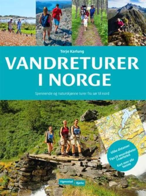 Bilde av Bok Vandreturer i Norge