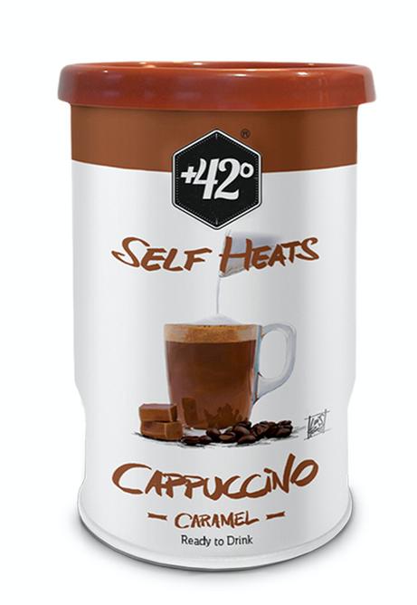 Bilde av +42 Selvvarmende drikk - Cappuccino Caramel
