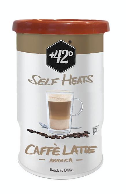 Bilde av +42 Selvvarmende drikk - Caffé Latte Arabica